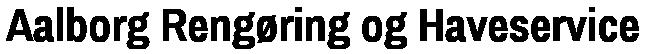 Aalborg Rengøring og Haveservice